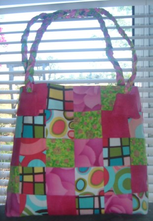 Julie's hopscotch bag